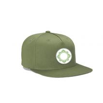 Happy Hemp Mandela Patch Twill Snap Back Hat, image 2